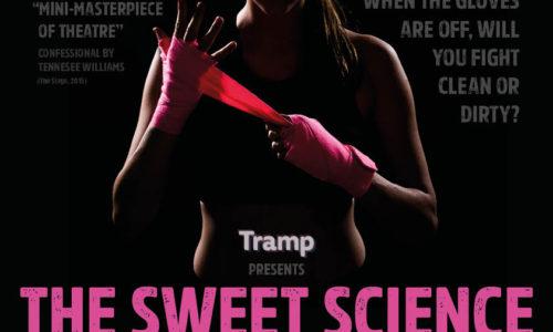 Annette Flynn in The Sweet Science at The Edinburgh Fringe Festival