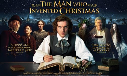 Catch Eddie, Mark and Degnan in The Man Who Invented Christmas