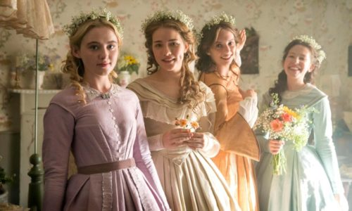 Kathleen Warner Yeates and Nelly Henrion in BBC's LITTLE WOMEN