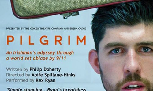 Rex Ryan performs in PILGRIM at Smock Alley Theatre until May 5th