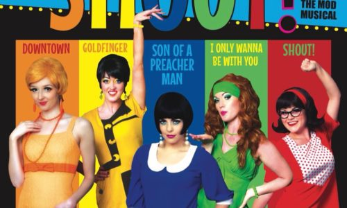 Fiona Carty tours Ireland in SHOUT – THE MOD MUSICAL