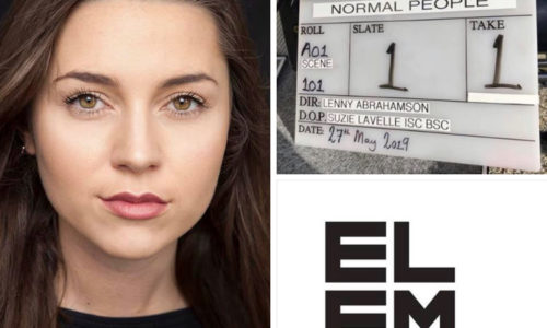 Slaney Power is currently shooting BBC 3's NORMAL PEOPLE