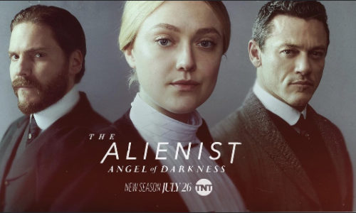 Liam Gaffney and Simon Nader in The Alienist: The Angel of Darkness