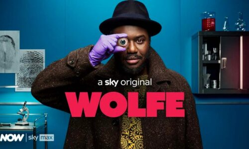 Aenne Barr plays guest role in Episode 3 of WOLFE for Sky Max